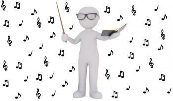 Дирижируем уроком под музыку