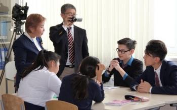 Урок-интервью, Казахстан — Япония